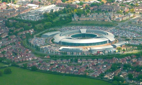 U.K. Government Communications Headquarters is located in Cheltenham.