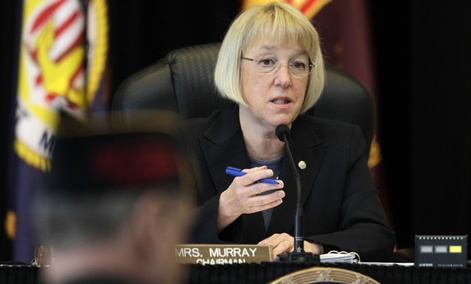 "Committee chair Sen. Patty Murray, D-Wash, called the situation she called ""simply unacceptable."" <p>"