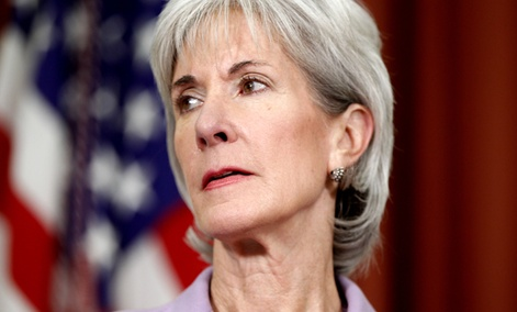 Health and Human Services Secretary Kathleen Sebelius made a pitch to spur the burgeoning market in mobile health technology.