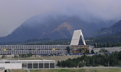 The Air Force Academy in Colorado Springs.