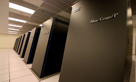 IBM's Dawn supercomputer is a cousin to the forthcoming Vulcan computer.