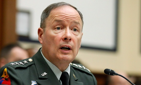 Army Gen. Keith Alexander