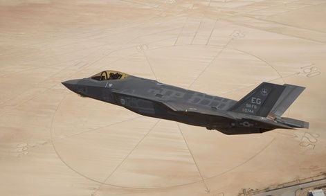 The F-35A Lightning II