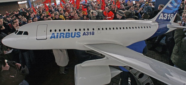 The European Aeronautic Defense and Space Co. is the parent company of Airbus.