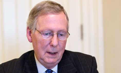Senate Minority Leader Mitch McConnell says December is a possible time for discussion.