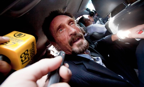 John McAfee's run from the law made John McAfee's company look really bad - nextgov-medium