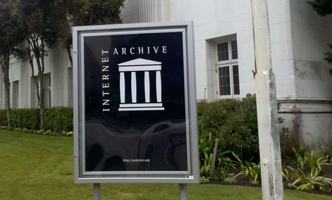 The Internet Archive in San Francisco.