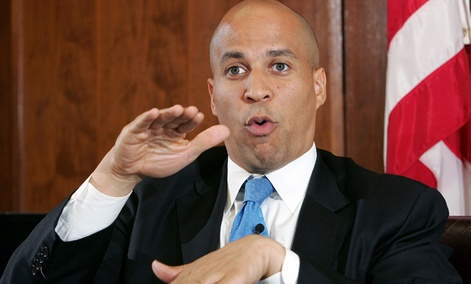 Newark Mayor Cory Booker