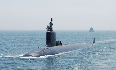 The Virginia-class attack submarine USS New Mexico is nuclear-powered.