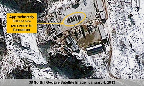 Satellite pictures from recent months show the North appears to have pressed forward with preparations for a third underground detonation.