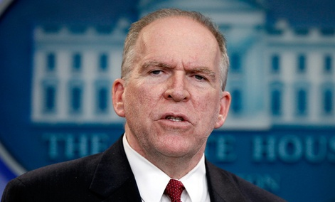 Obama's nominee for CIA Director, John Brennan