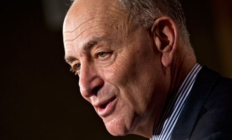"""If there's an attempt to just try and pass high-end, high-tech immigration, guess who will be furious? The Hispanic community,"" New York Sen. Chuck Schumer said this week."