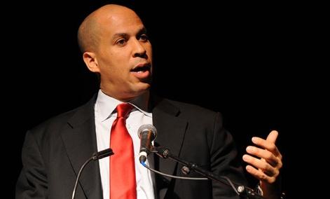 Newark Mayor Cory Booker spoke at South by Southwest last week,