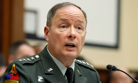 "Gen. Keith Alexander, head of Cyber Command, said the combat mission forces will include 27 teams and would ""support the combatant commands in their planning process for offensive cyber capabilities."""