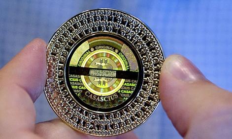 A 25 Bitcoin token