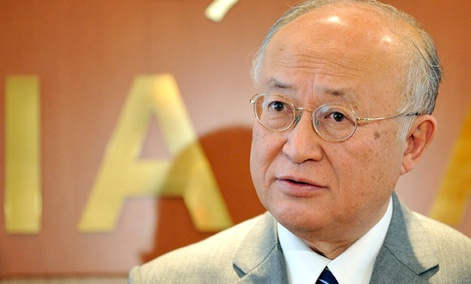 The Director General of the International Atomic Energy Agency, IAEA, Yukiya Amano