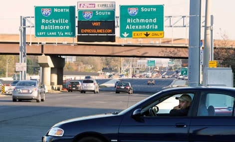 The Washington region is reliant on highways like the Capitol Beltway.