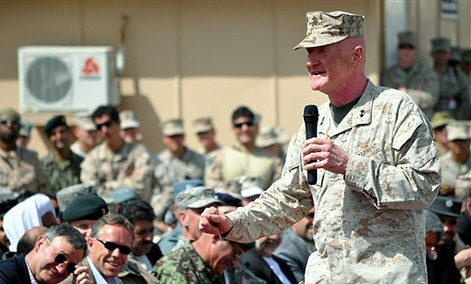 Lt. Gen. Richard P. Mills, commander of the Marine Corps Forces Cyberspace Command