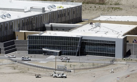 An aerial view of the NSA's Utah Data Center in Bluffdale, Utah, Thursday, June 6, 2013.