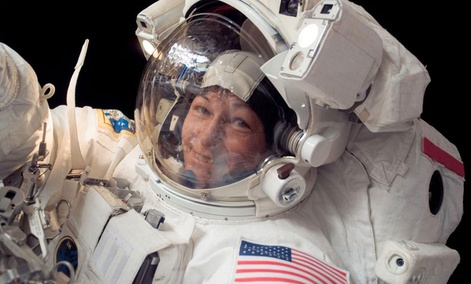 Peggy Whitson, the first female commander of the International Space Station