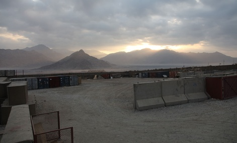 Overcast skies -- such as those at Forward Operating Base Kutschbach in Afghanistan in December -- can cause problems for current radar systems.