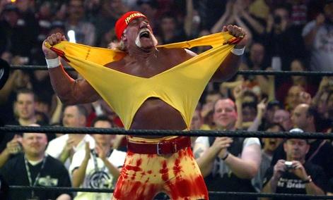 Hulk Hogan participated in WWE's WrestleMania 21  in 2005.