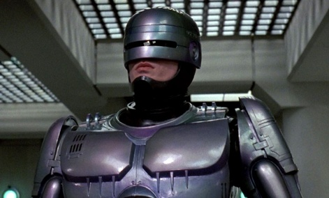 "In the 1987 film 'Robocop,"" Detroit was connected to a different kind of robot."