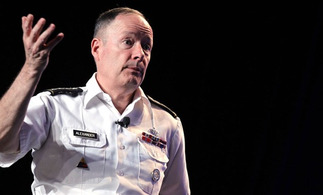 General Keith Alexander, head of the National Security Agency, delivered the keynote address at the Black Hat hacker conference last week.