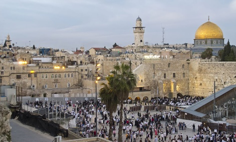 The Old City section of Jerusalem is a major sticking point in the Israeli-Palestinian conflict.