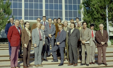 The Voyager team in 1972.