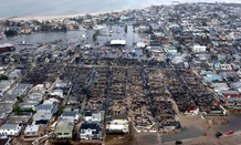 Destruction in the wake of Hurricane Sandy