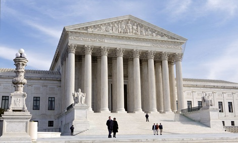 The U.S. Supreme Court in Washington, DC