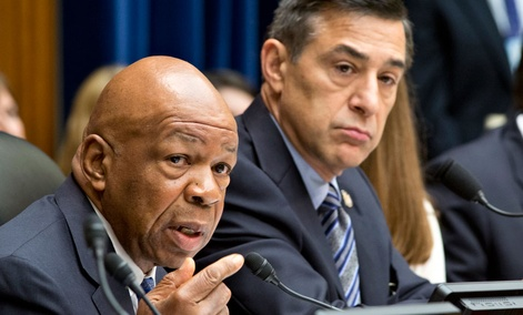 Rep. Elijah Cummings, D-Md., and Rep. Darrell Issa, R-Calif.