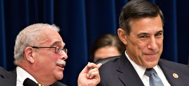 House Oversight Committee Chairman Darrell Issa, R-Calif. and Rep. Gerry Connolly, D-Va.
