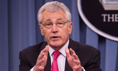 Defense Secretary Chuck Hagel is to evaluate the plan.