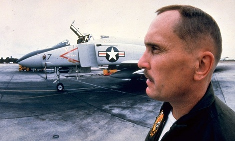 "Actor Robert Duvall is shown in the 1980 movie ""The Great Santini."""