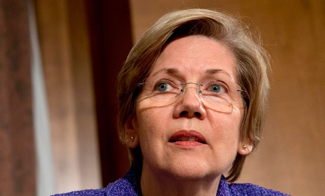 Sen. Elizabeth Warren declared that Congress needed to adopt tighter data-security protections.