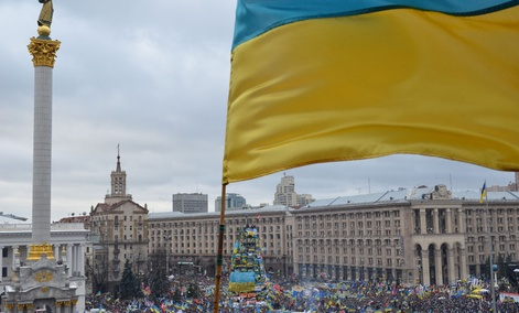 The Euromaidan protests started this fall in Kiev.