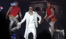 The Canadian pop star's concerts involve pyrotechnics and backupdancers.