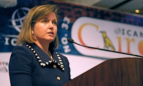 Meredith Attwell Baker, a former FCC commissioner, will head CTIA