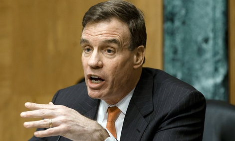"""We looked for a collaborative effort in this process but we're also holding their feet to the fire,"" Senate bill co-sponsor Mark Warner, D-Va., said."