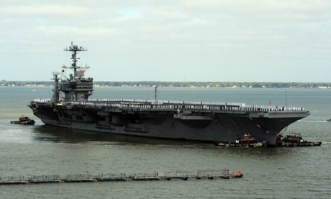 One hacker worked aboard the U.S.S. Harry S. Truman