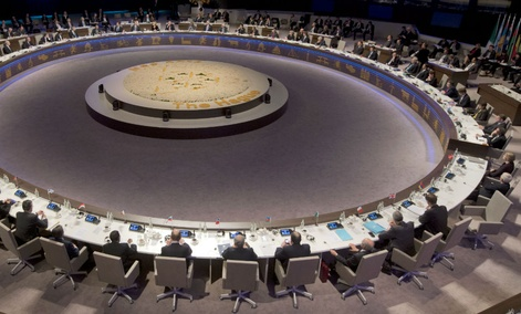 The Nuclear Security Summit in The Hague, Netherlands