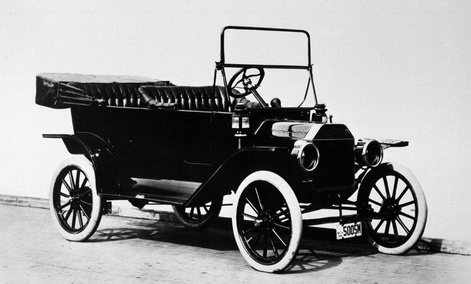 The Model T. was state-of-the-art in 1914.