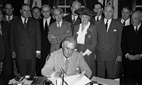 FDR signed the bill in 1944.
