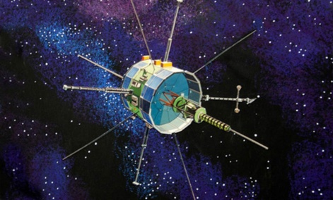 The ISEE-3 (ICE) spacecraft.