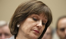 Lois Lerner's emails were destroyed when her hard drive was destroyed, IRS has said.