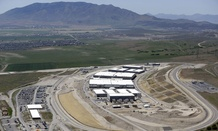 The National Security Agency's Utah Data Center in Bluffdale, Utah.