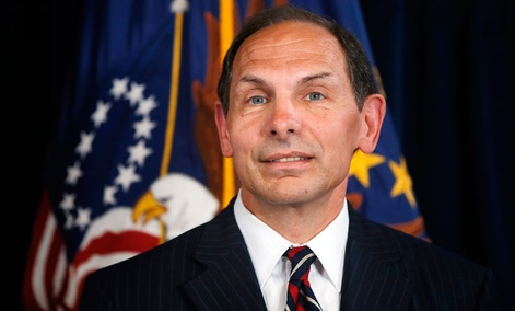 Robert McDonald, secretary of the Veteran Affairs Department.