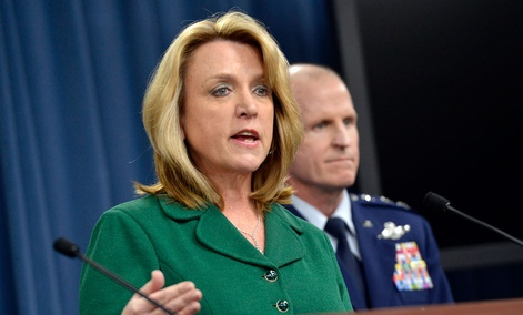 Air Force Secretary Deborah Lee James